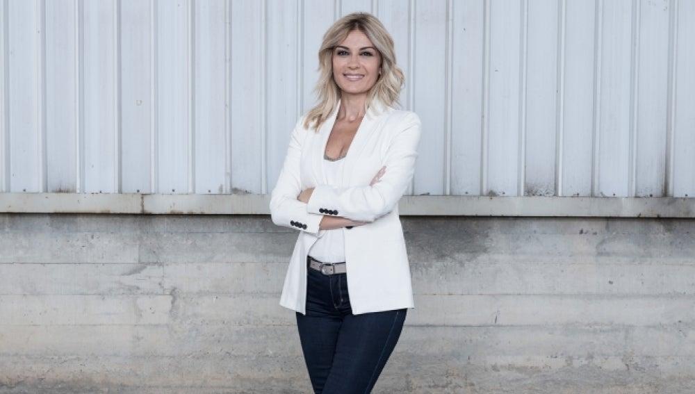 Sandra Golpe presentadora de Antena 3 Noticias 1