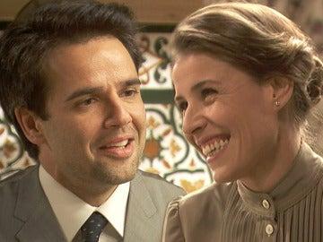 Carmelo Leal y Adela Arellano en 'El secreto de Puente Viejo'