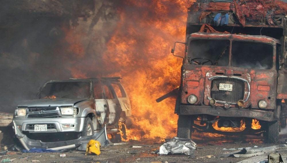 Ataque terrorista perpetrado en Mogadiscio