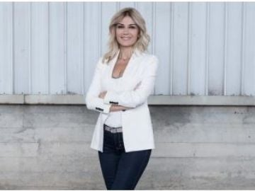 Sandra Golpe, presentadora de Antena 3 Noticias