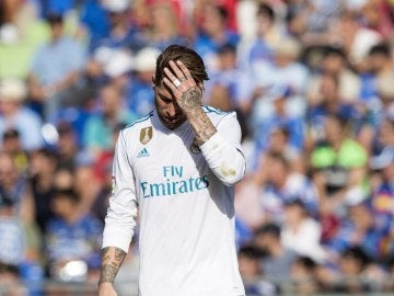 Sergio Ramos jugó en Getafe tras pincharse suero y tener vómitos