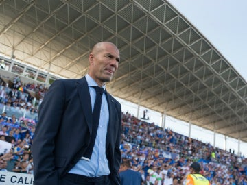 Zidane, en el Coliseum