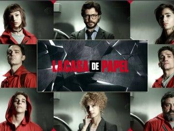 Los actores de 'La casa de papel'