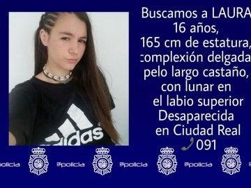 Joven desaparecida en Ciudad Real