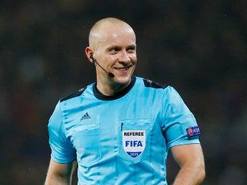 Szymon Marciniak será el encargado de impartir justicia en el partido entre Real Madrid y Tottenham Hotspur