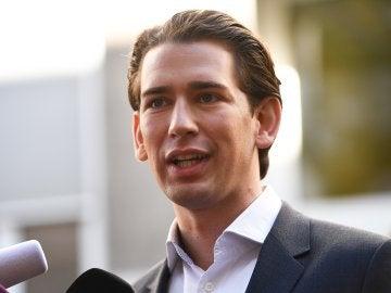 Sebastian Kurz, líder de los conservadores en Austria