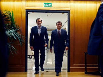 Mariano Rajoy y Albert Rivera
