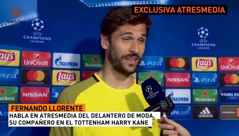 Fernando Llorente, delantero del Tottenham