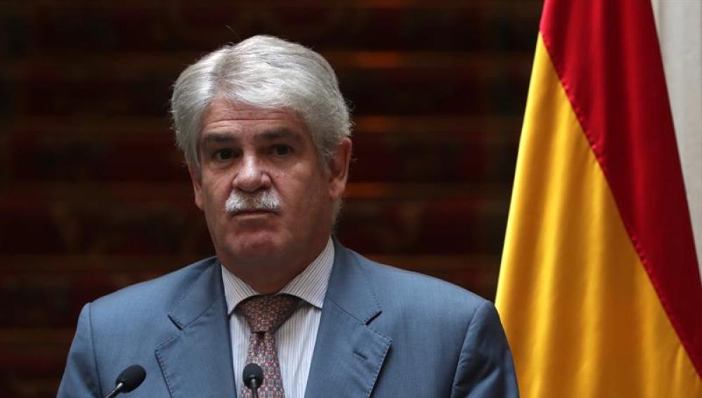 El Ministro de Exteriores español Alfonso Dastis