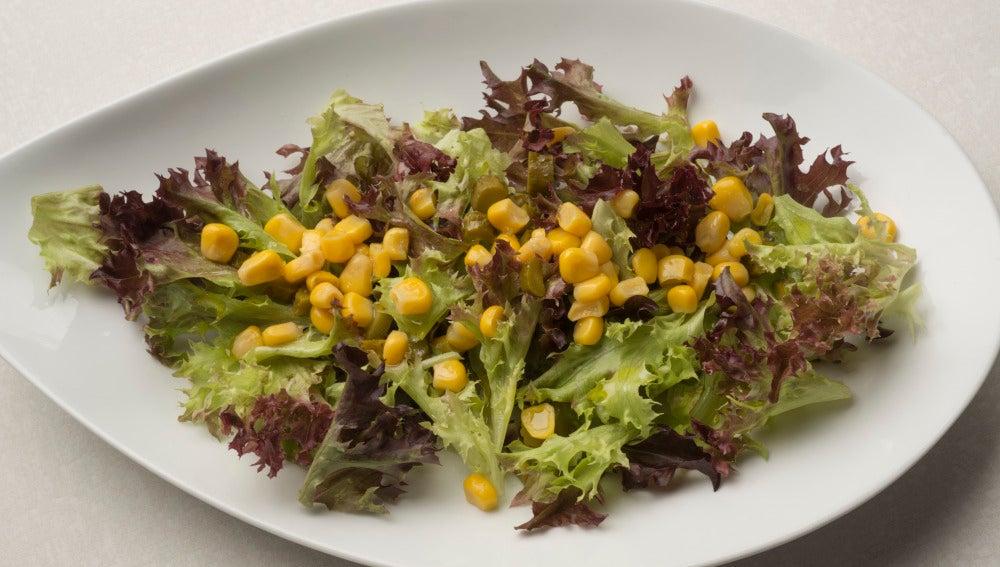 Ensalada de lolo y maíz