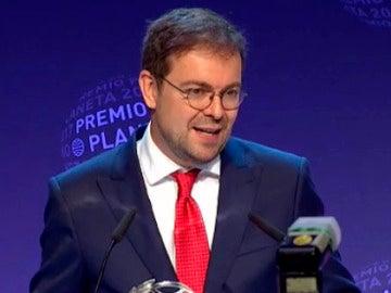 Javier Sierra, ganador del Premio Planeta 2017