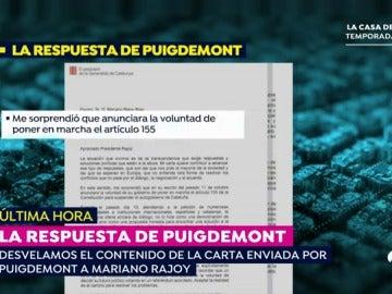 EP carta puigdemont