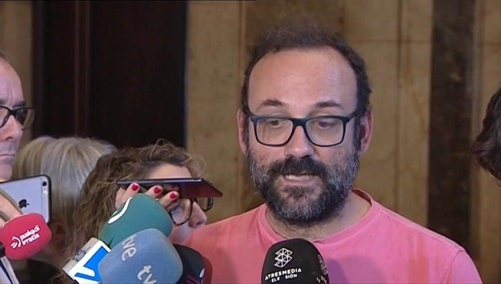 La CUP pide proclamar la independencia de Cataluña antes de que el Gobierno aplique el artículo 155