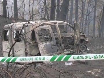 Al menos cuatro muertos en los más de 105 incendios que arrasan Galicia