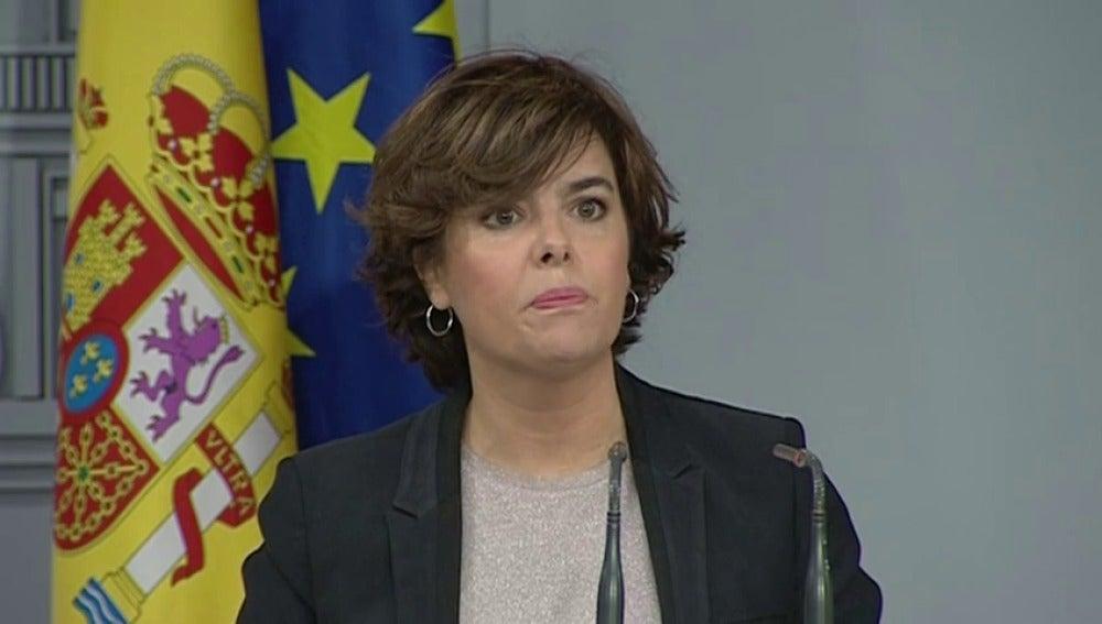 """Santamaría: """"Nadie ha tenido tan fácil evitar que se aplique la Constitución"""""""