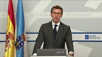 """Núñez Feijóo asegura que la situación en Galicia por los incendios es """"crítica"""""""