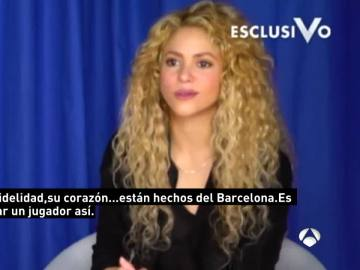 Shakira, pareja de Gerard Piqué