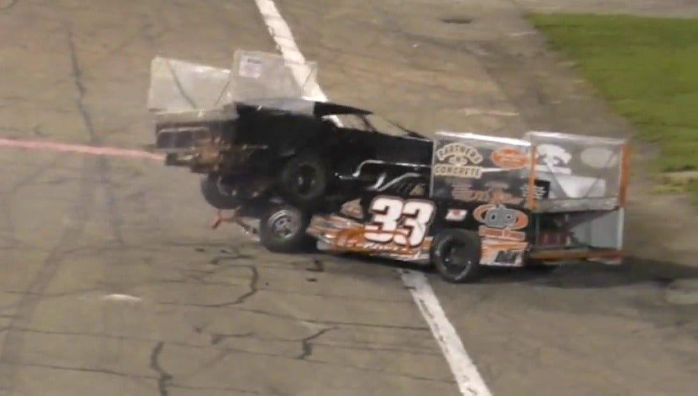 Agresión en una carrera de coches en Indiana