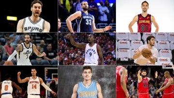 Los nueve españoles que jugarán la NBA 2017/2018