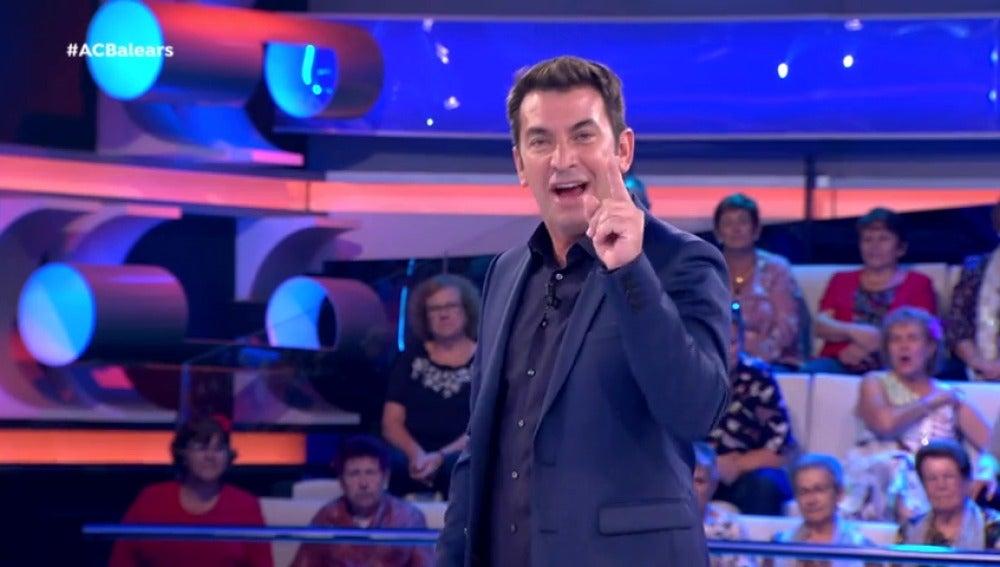 Arturo Valls en ¡Ahora Caigo!