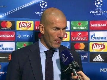 """Zidane: """"Es difícil aceptar que metieran un gol después de nuestro buen juego"""""""