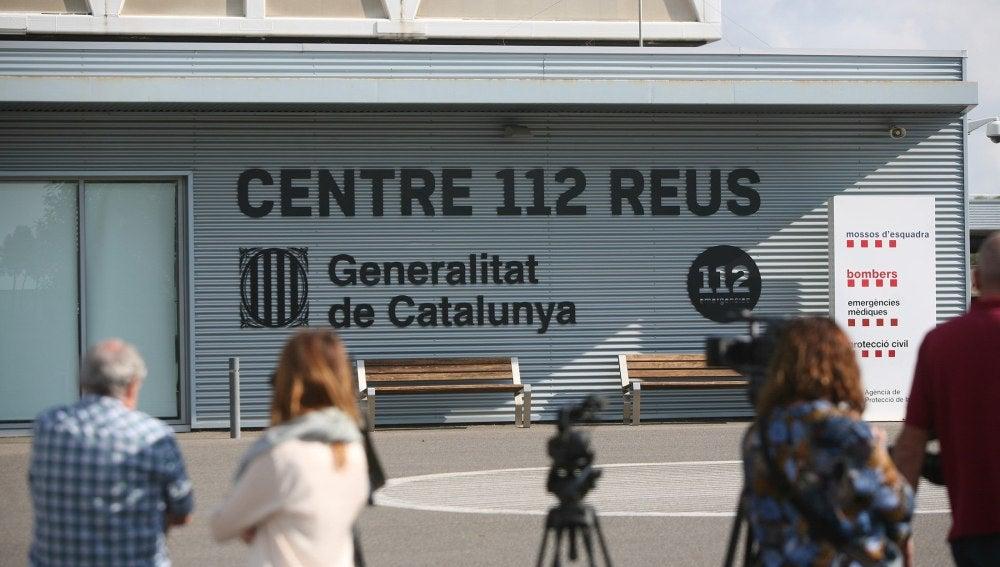 Vista de la sede central del servicio de emergencias 112 de la Generalitat, en Reus