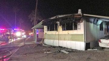 Casa incendiada accidentalmente por un hombre que intentaba matar arañas
