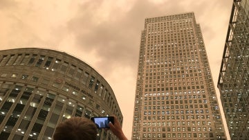 Un británico fotografía el cielo de Londres