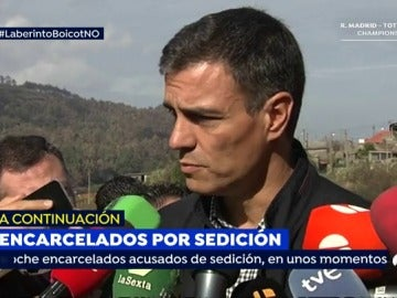 """Sánchez denuncia """"la falta de política de prevención, por parte del Gobierno de España respecto a los incendios"""""""