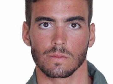 El piloto fallecido en la base de Torrejón, el teniente Fernando Pérez Serrano