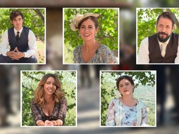 Consejos, deseos y regalos para el nuevo matrimonio de Puente Viejo