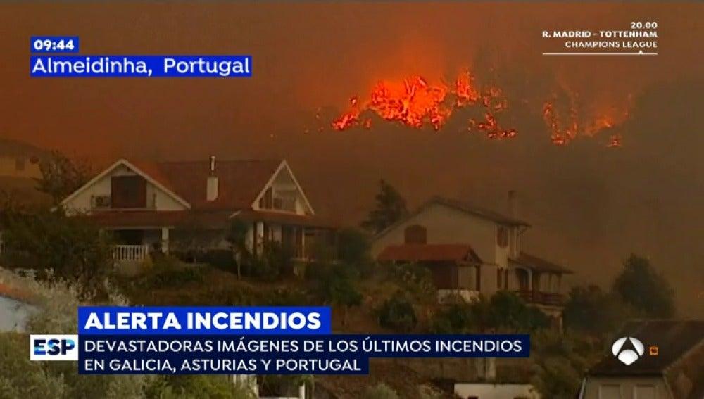 EP imagenes devastadoras incendios