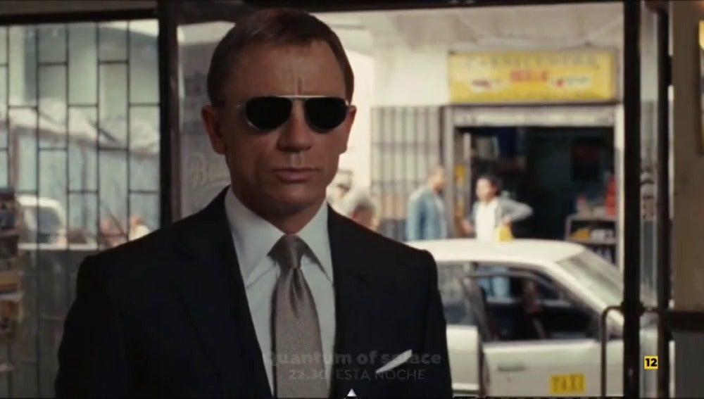 James Bond llega con 'Quantum of Solace'