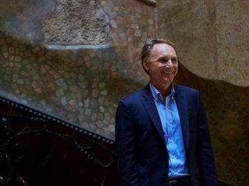 Dan Brown en la presentación de su libro 'Origen'