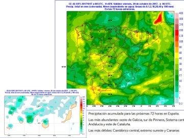 Vuelve la lluvia y las temperaturas caen 14 grados, aunque por poco tiempo