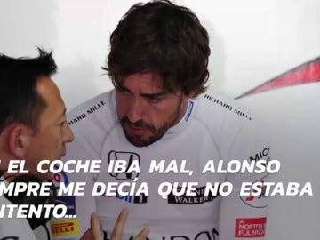 """La 'rajada' de Hasegawa, jefe de Honda, sobre Fernando Alonso: """"Su actitud no gustó a algunos"""""""