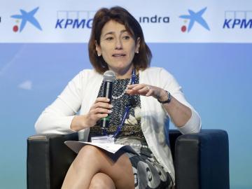 La ministra de Administración Interna del Gobierno de Portugal, Constança Urbano da Sousa