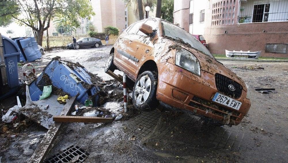 Daños tras las lluvias en Jerez