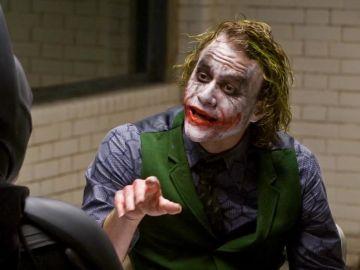 Heath Ledger y Christian Bale en 'El caballero oscuro'