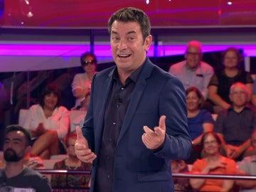 Arturo Valls se corona con el chiste de albañil más gracioso