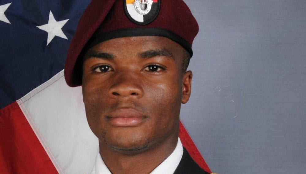 David T. Johnson, militar estadounidense muerto en Níger