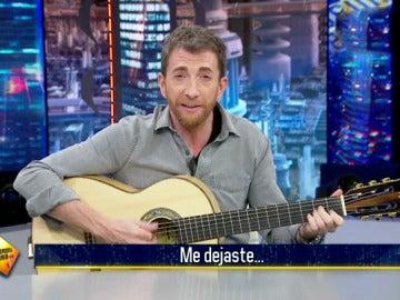 Pablo Motos responde al reto musical que le lanzó Pablo Alborán