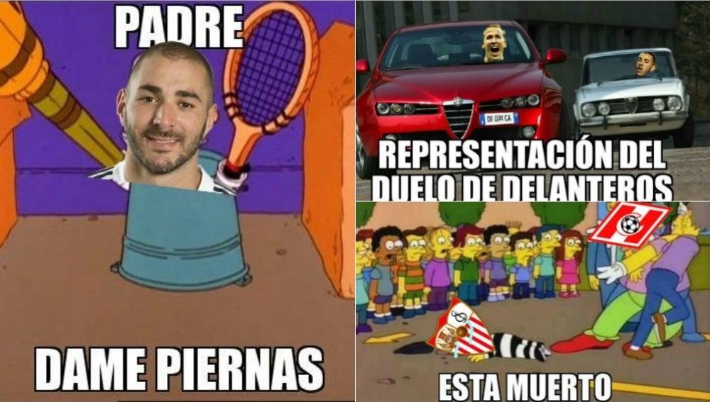 Los 'memes' del Madrid-Tottenham y el Spartak-Sevilla