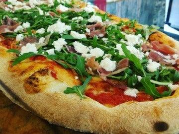 La pizza de Micaela, en Wesaveeat.com
