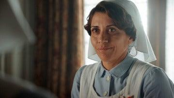 """Carmen emocionada, informa a las enfermeras  de su salud: """"Estoy muy orgullosa de vosotras"""""""