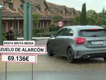 Pozuelo de Alarcón, en Madrid, es el municipio más rico y Zahínos, en Badajoz, el más pobre