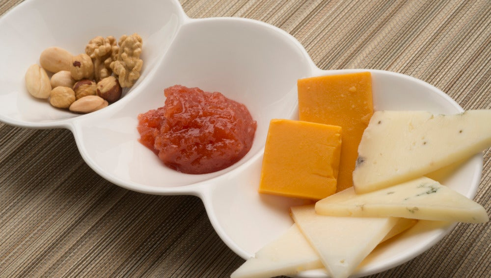 Dulce de membrillo con frutos secos