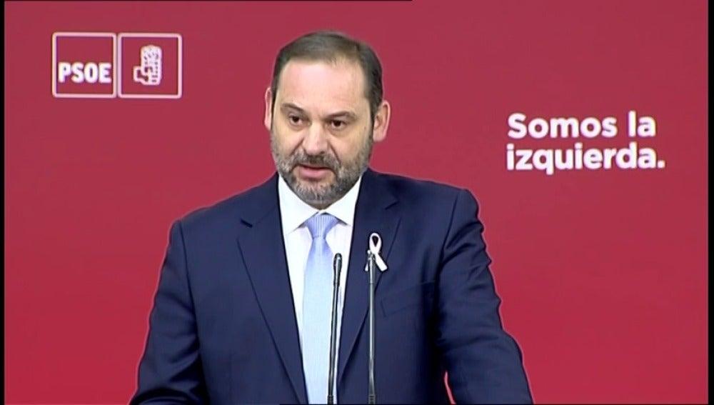 """Ábalos: """"No se negocia la integridad territorial de España"""""""