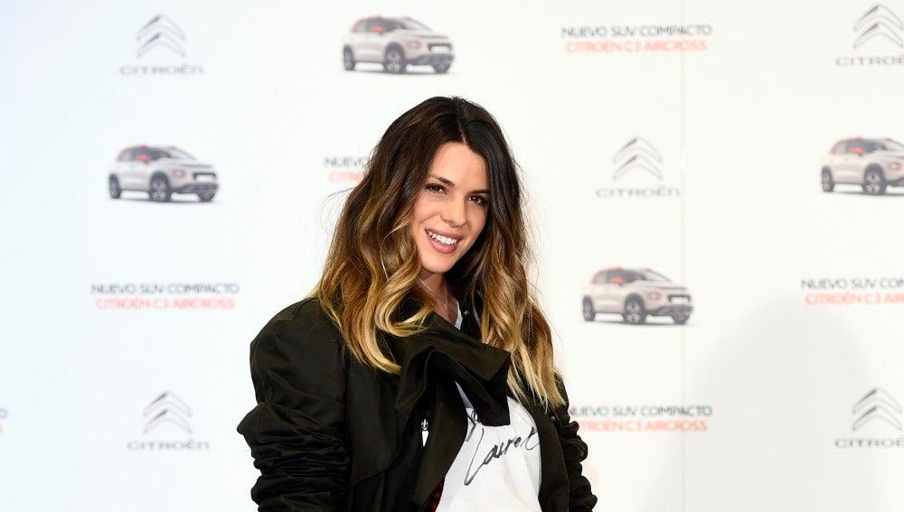 El look de premamá de Laura Matamoros