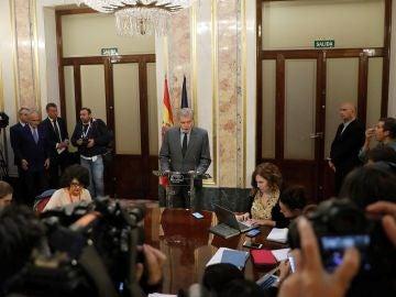 El ministro portavoz del Gobierno, Íñigo Méndez de Vigo